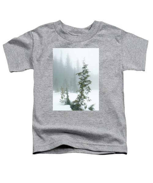 Trees In Fog Toddler T-Shirt