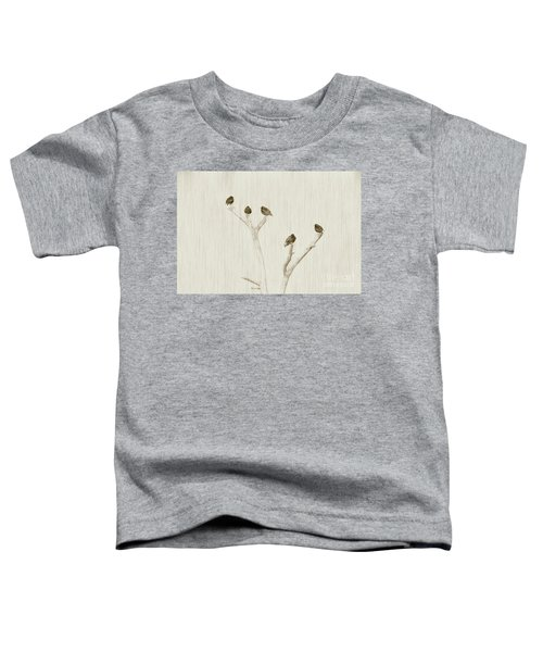 Treetop Starlings Toddler T-Shirt by Benanne Stiens