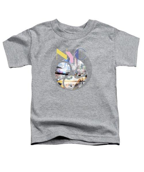 Trendy Design New York City Geometric Mix No 1 Toddler T-Shirt