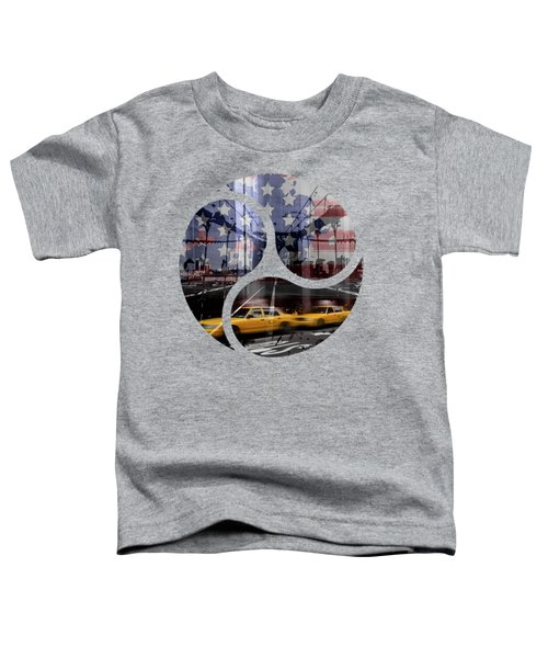 Trendy Design Nyc Composing Toddler T-Shirt by Melanie Viola