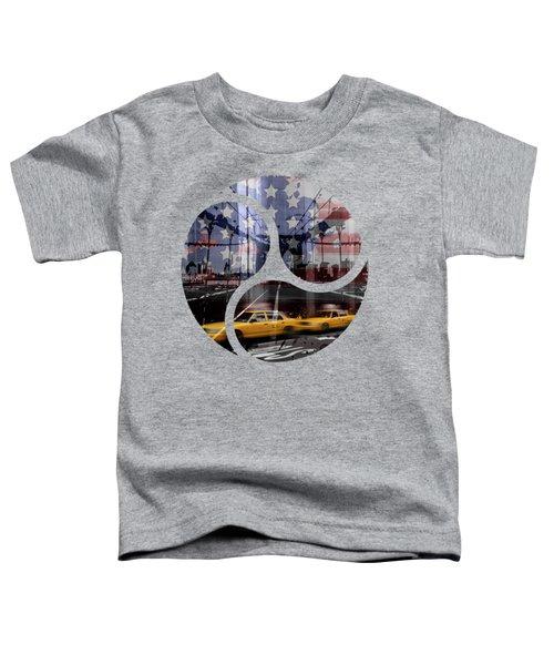Trendy Design Nyc Composing Toddler T-Shirt