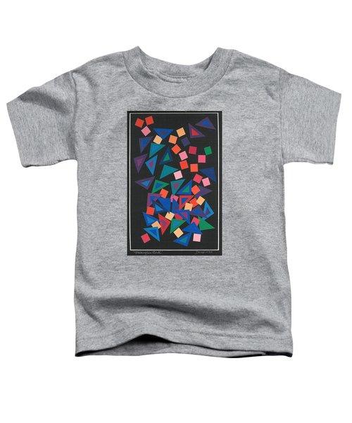 Triangles Ball Toddler T-Shirt
