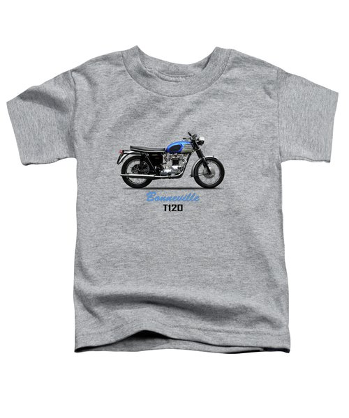 Triumph Bonneville T120 1965 Toddler T-Shirt