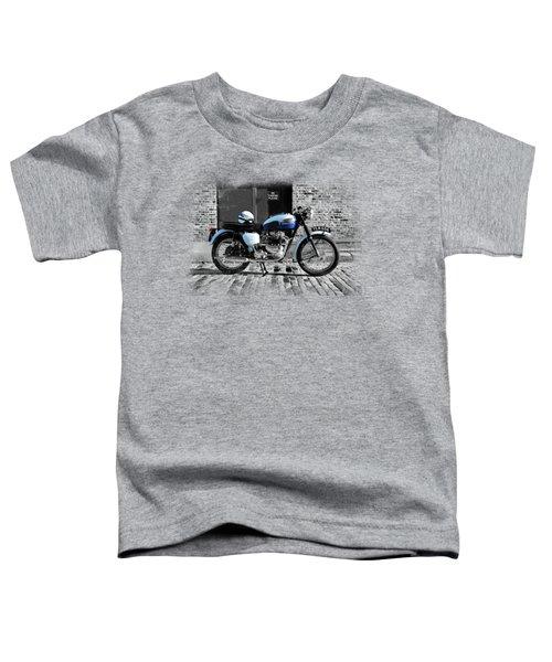 Triumph Bonneville T120 Toddler T-Shirt by Mark Rogan