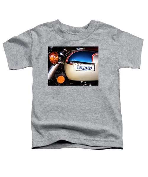 Triumph Motorcyle Toddler T-Shirt