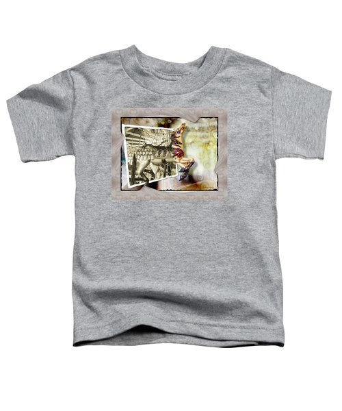 Toddler T-Shirt featuring the photograph Triumph by Susan Kinney