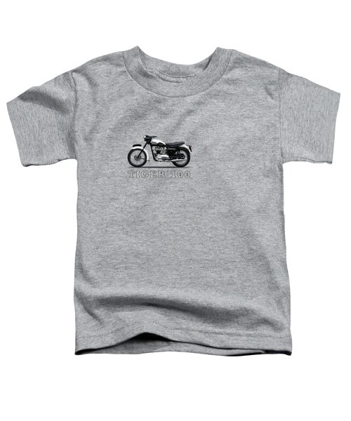 Triumph Tiger 110 1959 Toddler T-Shirt by Mark Rogan