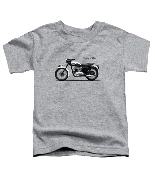 Triumph Tiger 1959 Toddler T-Shirt by Mark Rogan
