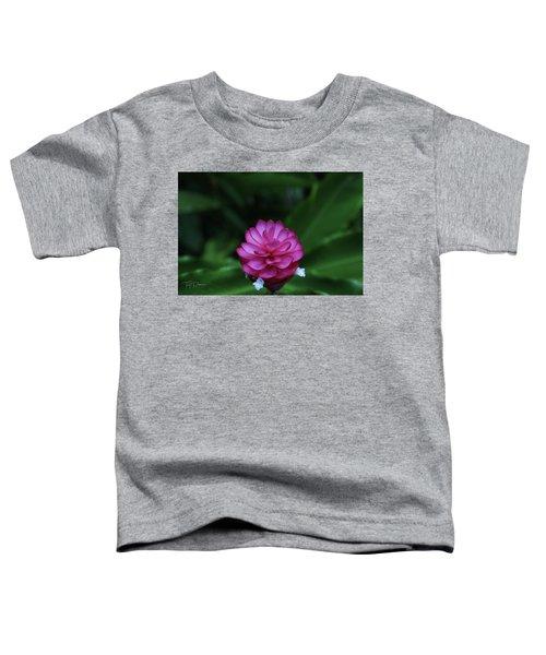Tropical Flower Toddler T-Shirt