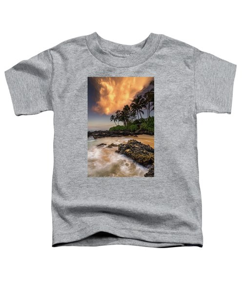 Tropical Nuclear Sunrise Toddler T-Shirt