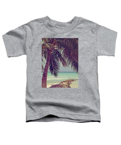 Tropical Ocean View Toddler T-Shirt