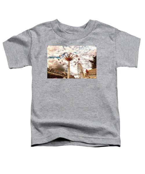 Tuilerie Garden Paris Swings Toddler T-Shirt