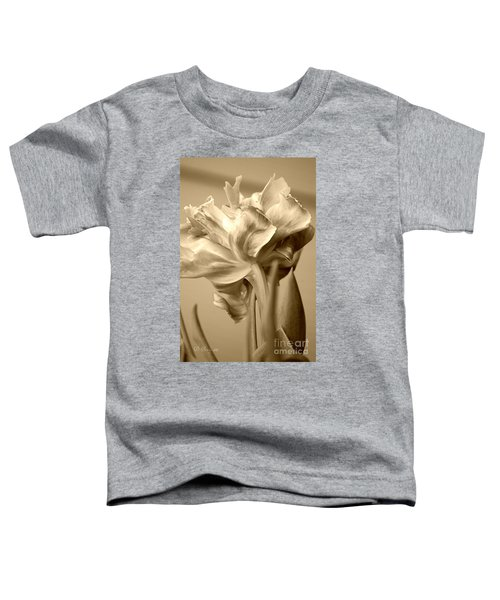 Tulips In Sepia Toddler T-Shirt