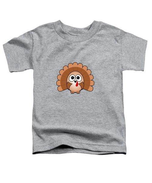 Turkey - Birds - Art For Kids Toddler T-Shirt