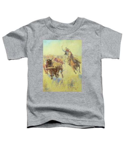 Turning The Lead Toddler T-Shirt