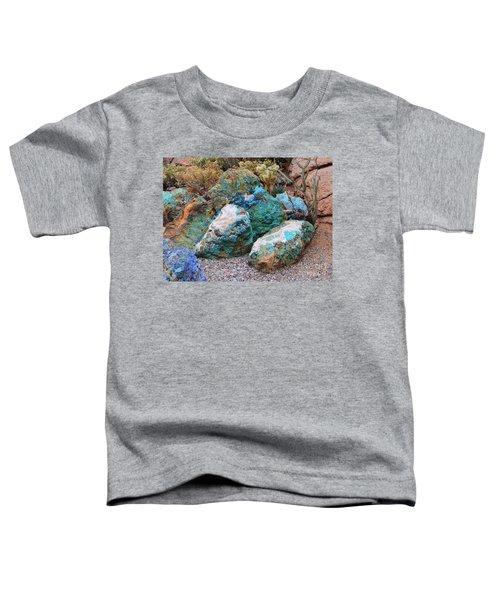 Turquoise Rocks Toddler T-Shirt