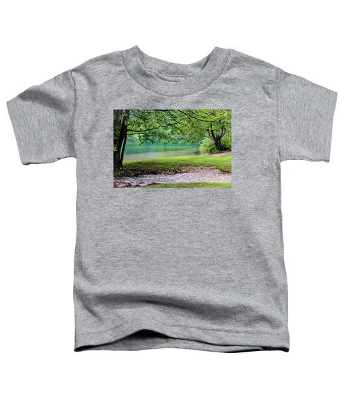 Turquoise Zen - Plitvice Lakes National Park, Croatia Toddler T-Shirt