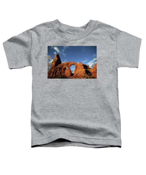 Turret Arch In The Moonlight Toddler T-Shirt