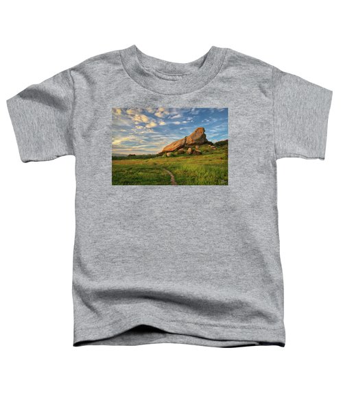 Turtle Rock At Sunset Toddler T-Shirt