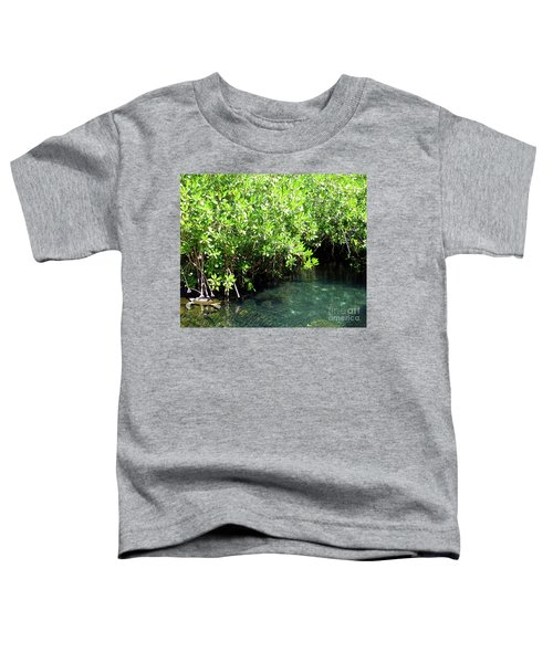 Toddler T-Shirt featuring the photograph Turtle Swim by Francesca Mackenney