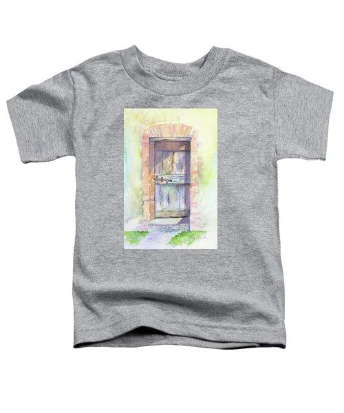 Tuscan Doorway Toddler T-Shirt