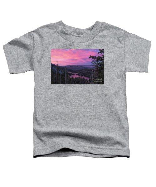 Twilight Mammoth Lakes  Toddler T-Shirt