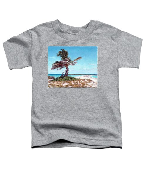 Twin Cove Palm Toddler T-Shirt