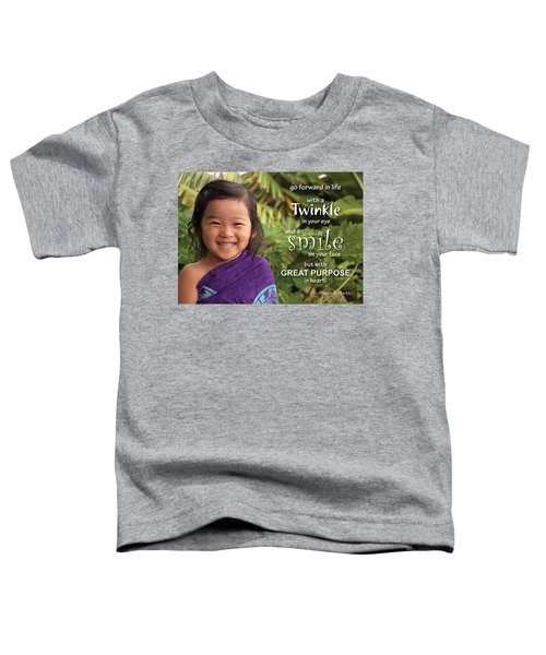 Twinkle Smile Toddler T-Shirt