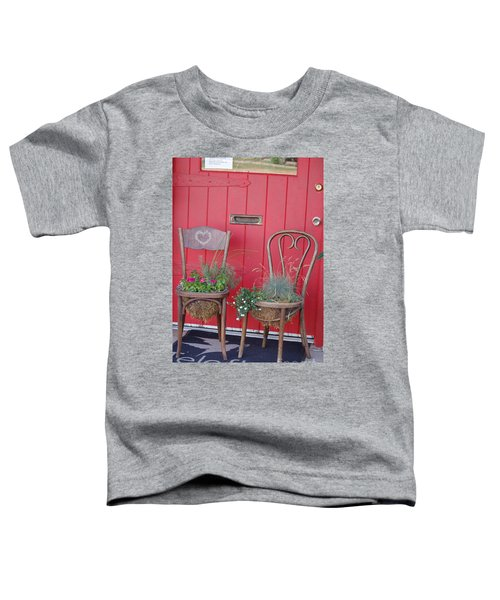 Two Chairs With Plants Toddler T-Shirt