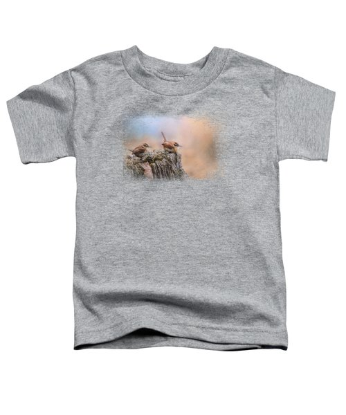 Two Little Wrens Toddler T-Shirt