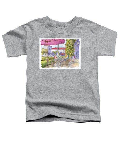 Two Readers In The Crystal Cove Mall, Laguna Beach, California Toddler T-Shirt
