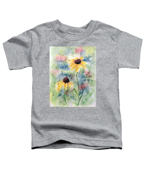 Two Sunflowers Toddler T-Shirt