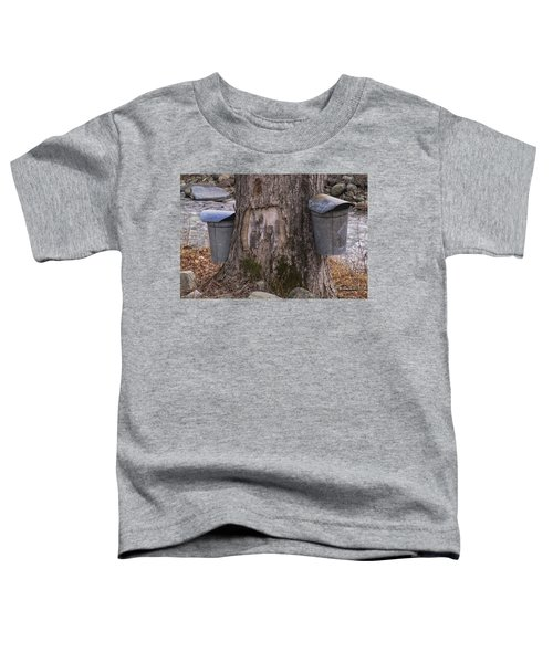 Two Syrup Buckets Toddler T-Shirt