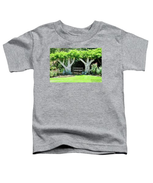 Two Tall Trees, Paradise, Romantic Spot Toddler T-Shirt