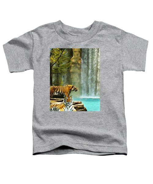 Two Tigers Toddler T-Shirt