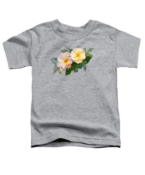 Two Wild Roses Toddler T-Shirt