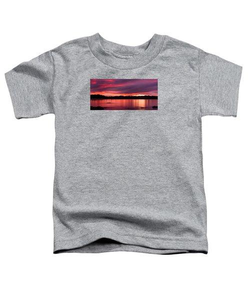 Twofold Bay Sunset Toddler T-Shirt