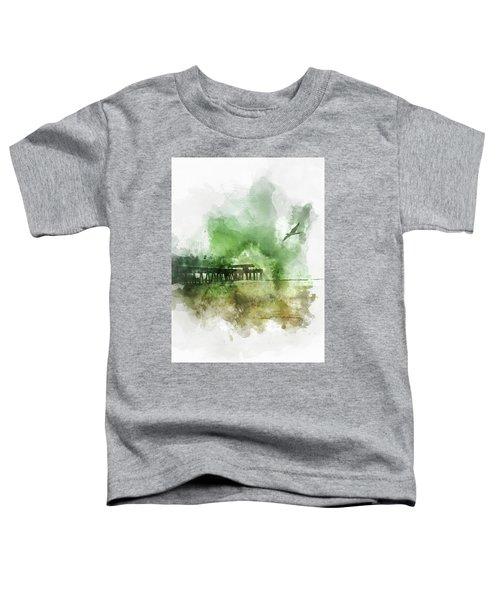 Tybee Island Pier Georgia Toddler T-Shirt