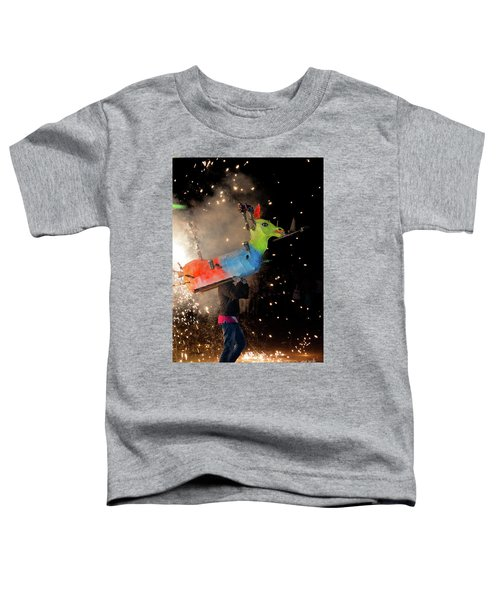 Typical Festival Plaza South Italy Toddler T-Shirt