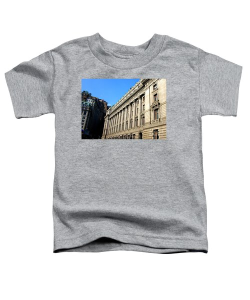 U S Custom House 1 Toddler T-Shirt by Randall Weidner