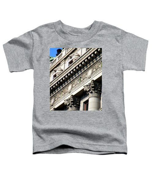 U S Custom House 2 Toddler T-Shirt by Randall Weidner
