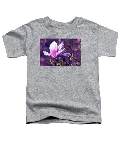 Ultra Violet Magnolia  Toddler T-Shirt