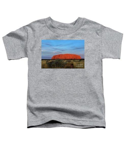 Uluru Sunset 03 Toddler T-Shirt