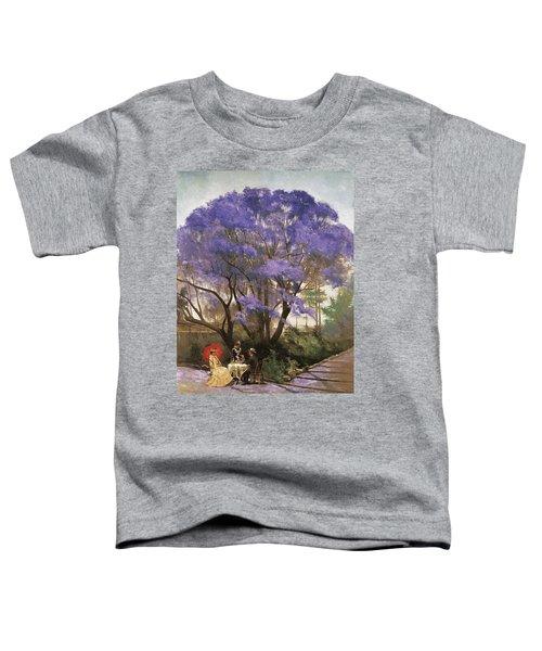 Under The Jacaranda 1903 Toddler T-Shirt