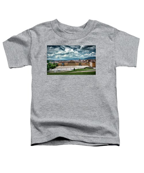 The Meridian Palace And Cityscape In Florence, Italy Toddler T-Shirt