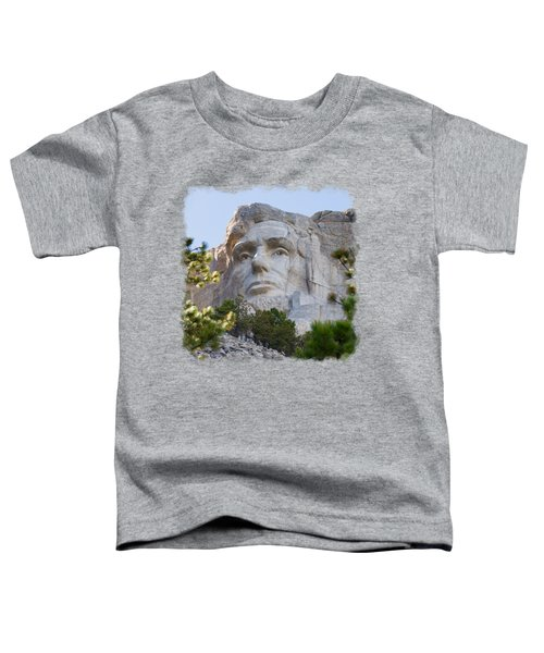 Unfinished Lincoln 3 Toddler T-Shirt