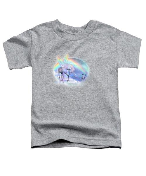 Unicorn Of The Rainbow Toddler T-Shirt