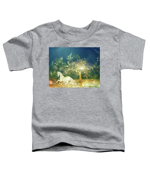 Unicorn Resting Series 2 Toddler T-Shirt