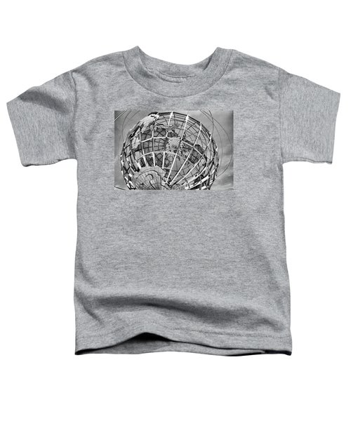 Unisphere In Black And White Toddler T-Shirt