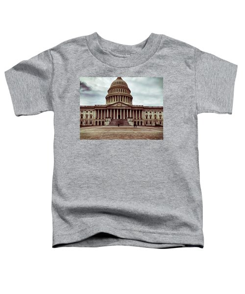 United States Capitol Building Toddler T-Shirt